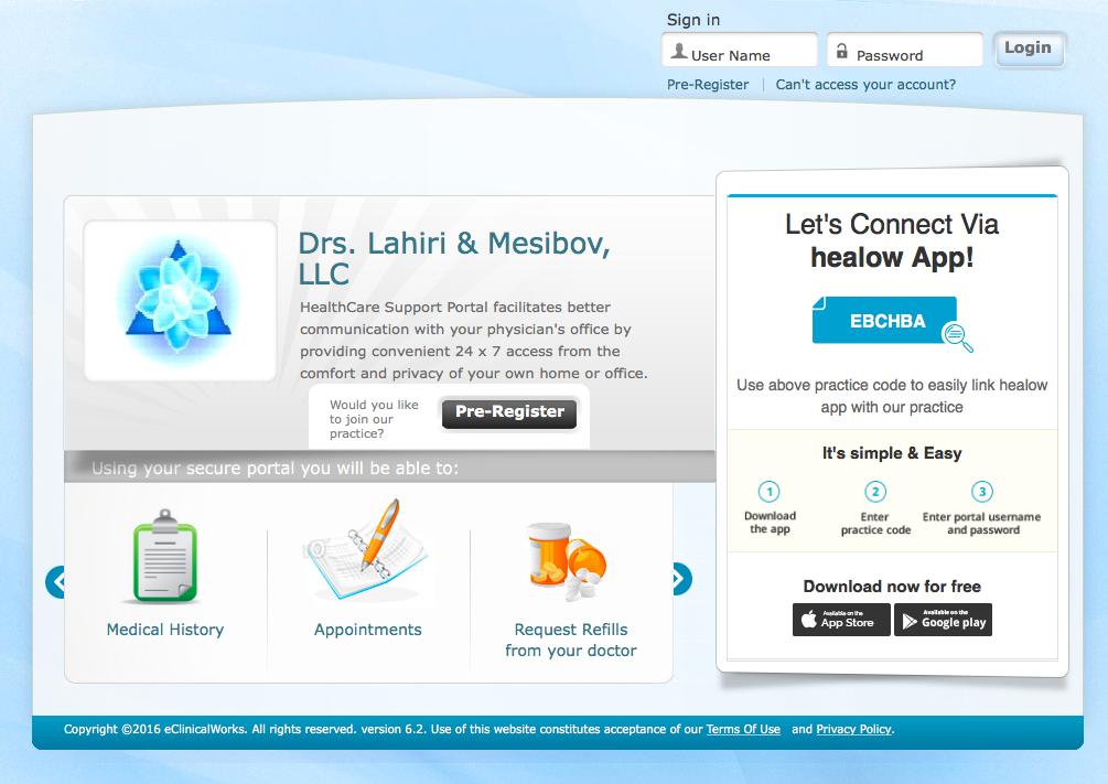 Drs  Lahiri and Mesibov, LLC – Endocrinology & Family Practice